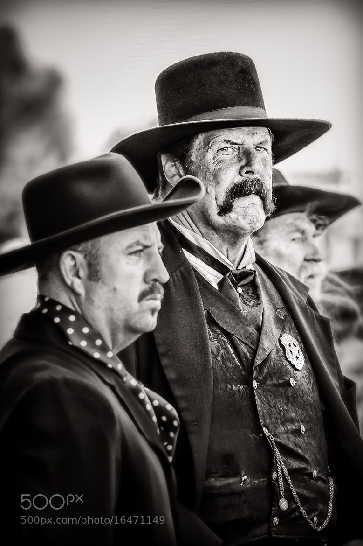 Photograph Wyatt Earp Stares Me Down by Steve Steinmetz on 500px