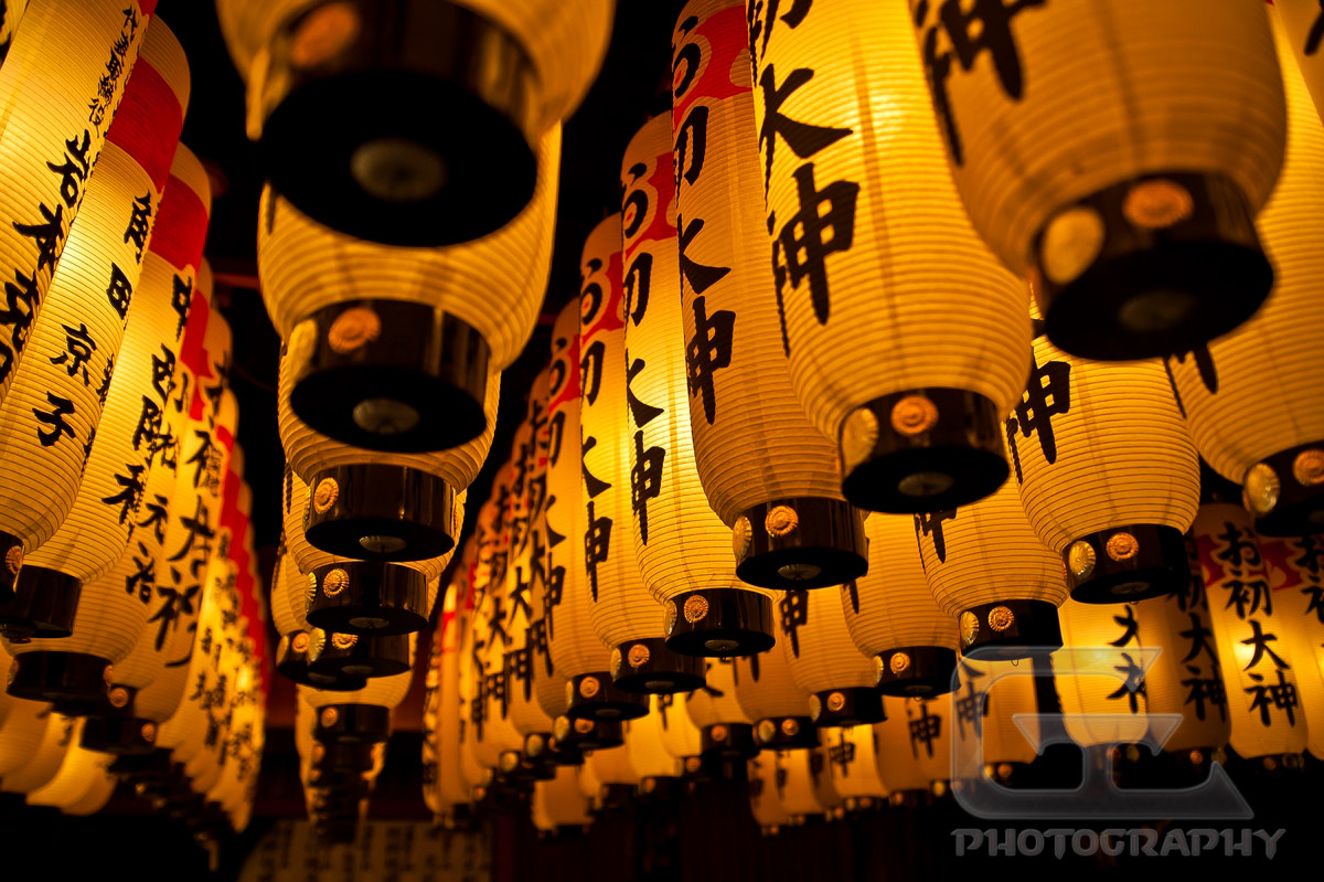 Photograph Lanterns row by Guillaume Catella on 500px