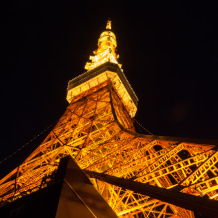 Tokyo tower, Canon EOS KISS F, Canon EF-S 18-55mm f/3.5-5.6 USM