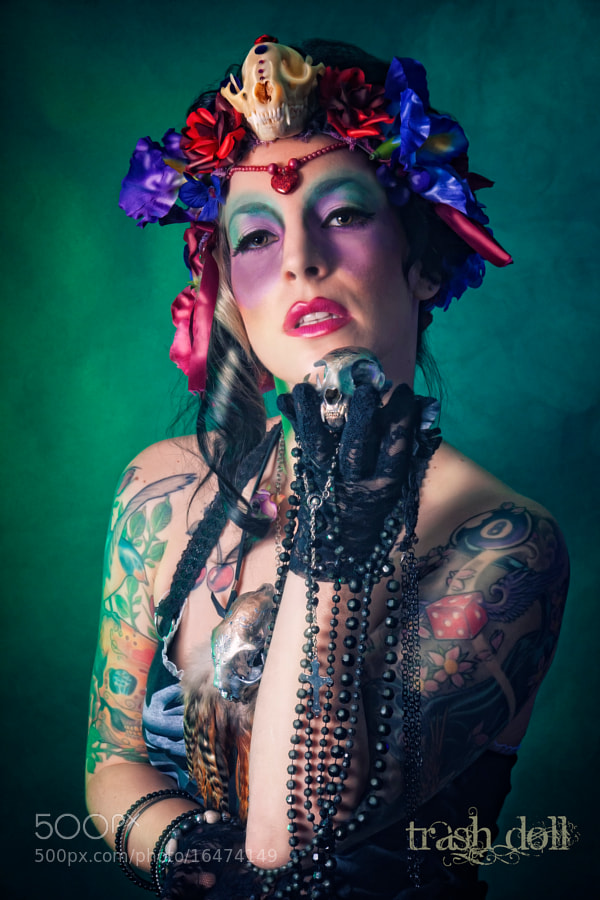 Photograph Voodoo Queen by Trash  Doll on 500px