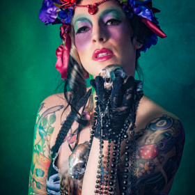 Voodoo Queen by Trash  Doll (trashdoll)) on 500px.com