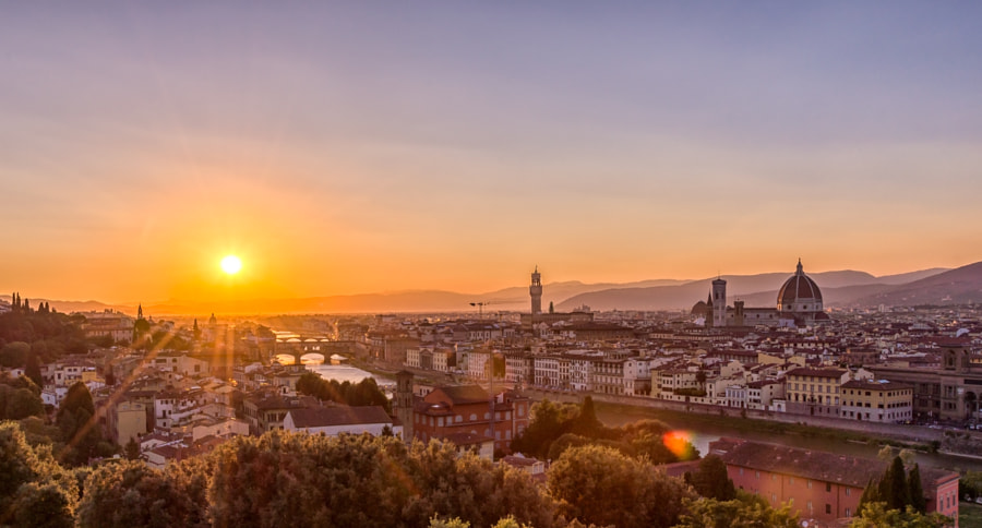 Sunset at Florence