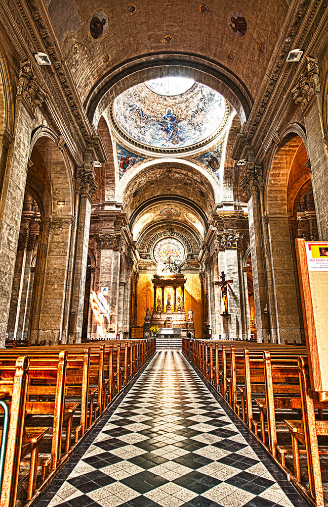 Photograph Annecy - Church Interior hdr by Jack Torcello on 500px