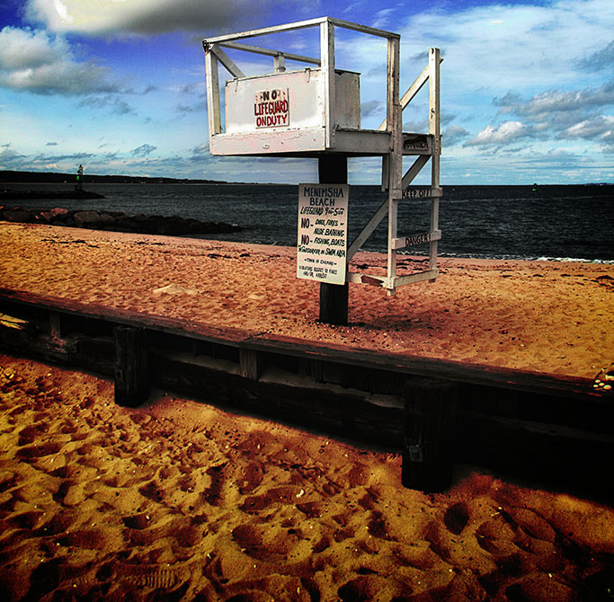 Photograph No Lifeguard Today - Menemsha Beach by Jack Torcello on 500px