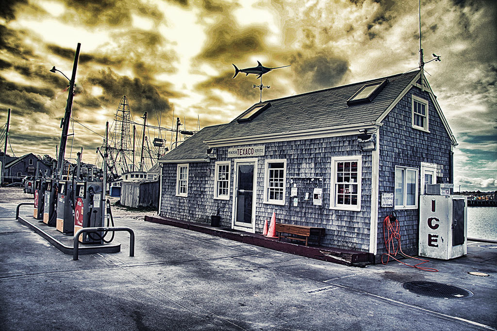 Photograph Menemsha Gas Station - Martha's Vineyard by Jack Torcello on 500px