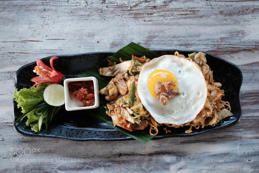 Mie Goreng, a traditional indonesian food