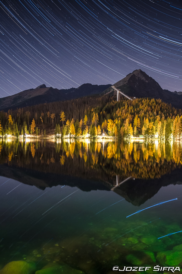 Photograph high tatras - star trails 16 by Jozef Šifra on 500px