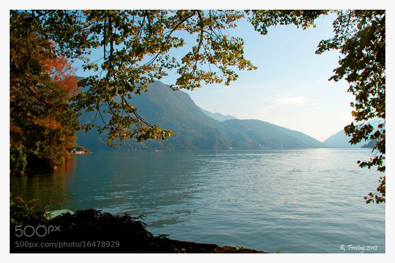 Photograph Lago di Lugano by Regina F on 500px