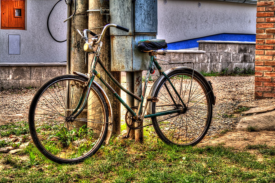 Photograph on the bike to happiness  by Soňa Kovalčíková on 500px