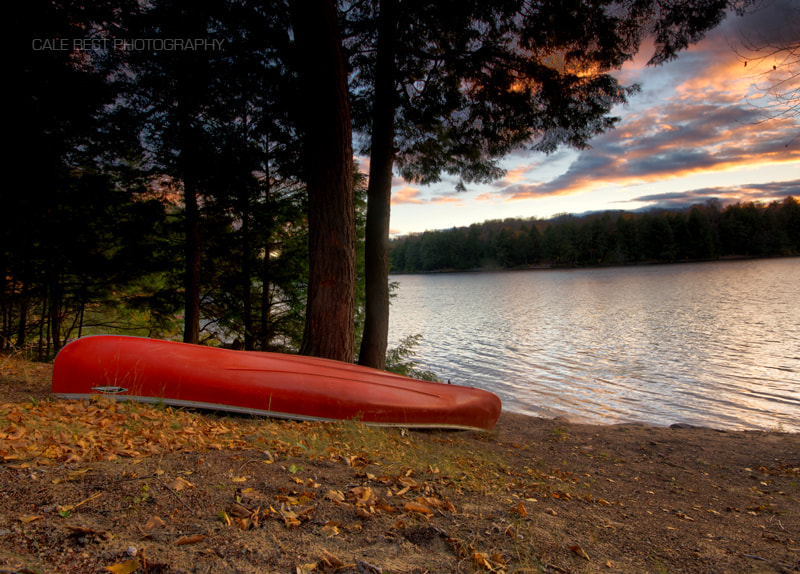 Photograph Eagle Lake Canoe by Cale Best on 500px