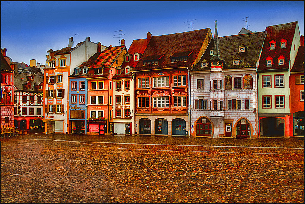Photograph Chocolate-boxy Mulhouse Alsace France by Jack Torcello on 500px