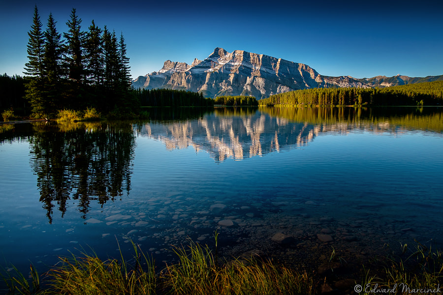 Two Jack Lake by Edward Marcinek