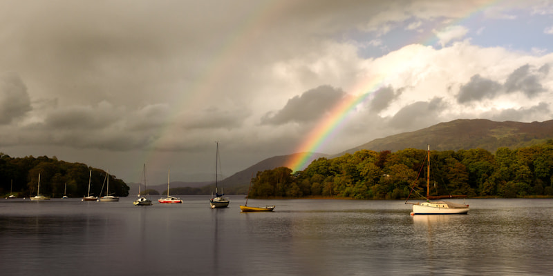 Photograph Double Rainbow by Chris Sargent on 500px