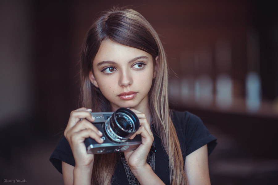 The Young Photographer by Irfan Zaidi
