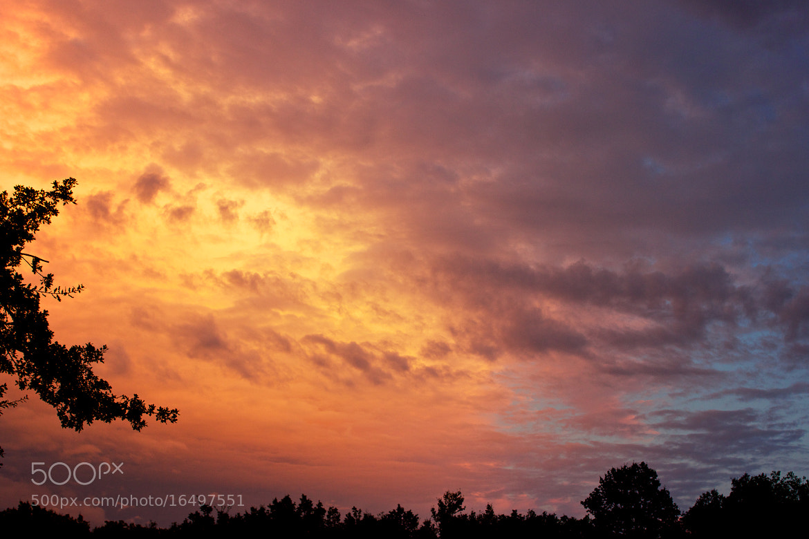 Photograph Sunset Clouds by Laurent Rouquette on 500px