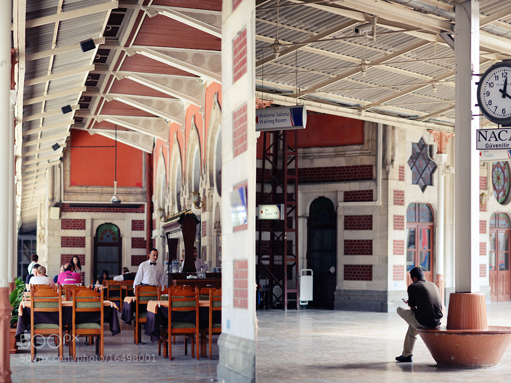 Photograph Oriental train station by Irina Nazarova on 500px