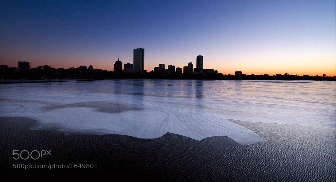 Photograph Boston, In Ice And Warmth by Alistair Knock on 500px