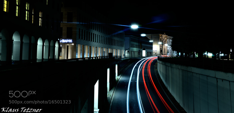 Photograph Night in Karlsruhe by Klaus Tetzner on 500px