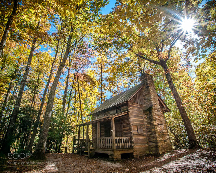 Photograph Linville Cabin by Douglas Adams on 500px