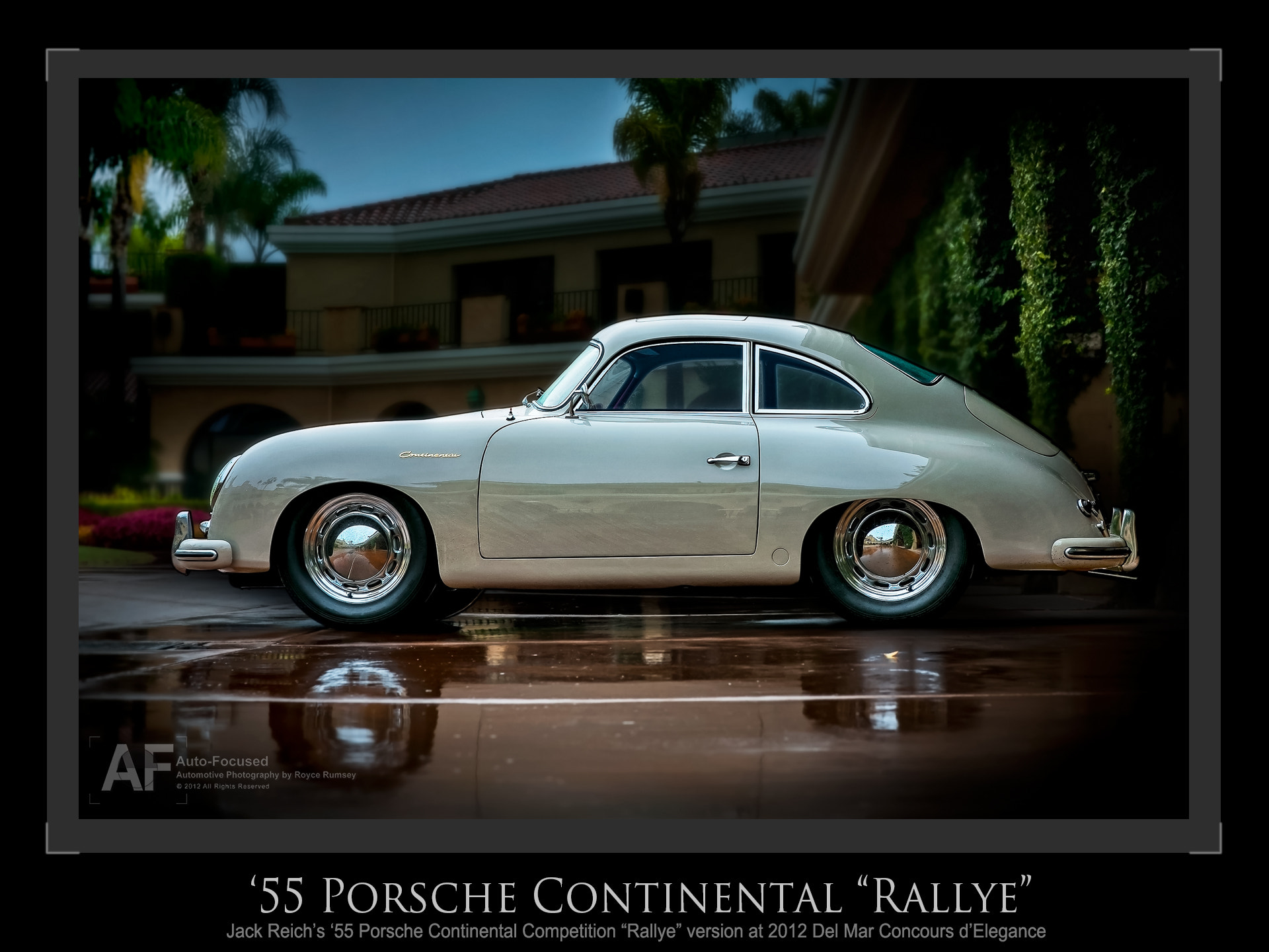 "Photograph '55 Porsche Continental ""Rallye"" by Royce Rumsey on 500px"