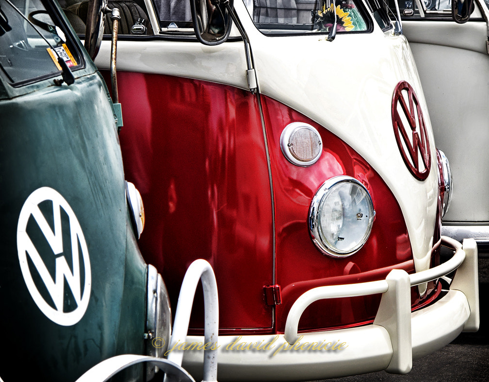 Photograph Automobile Series:  VW Vans by James David Phenicie on 500px