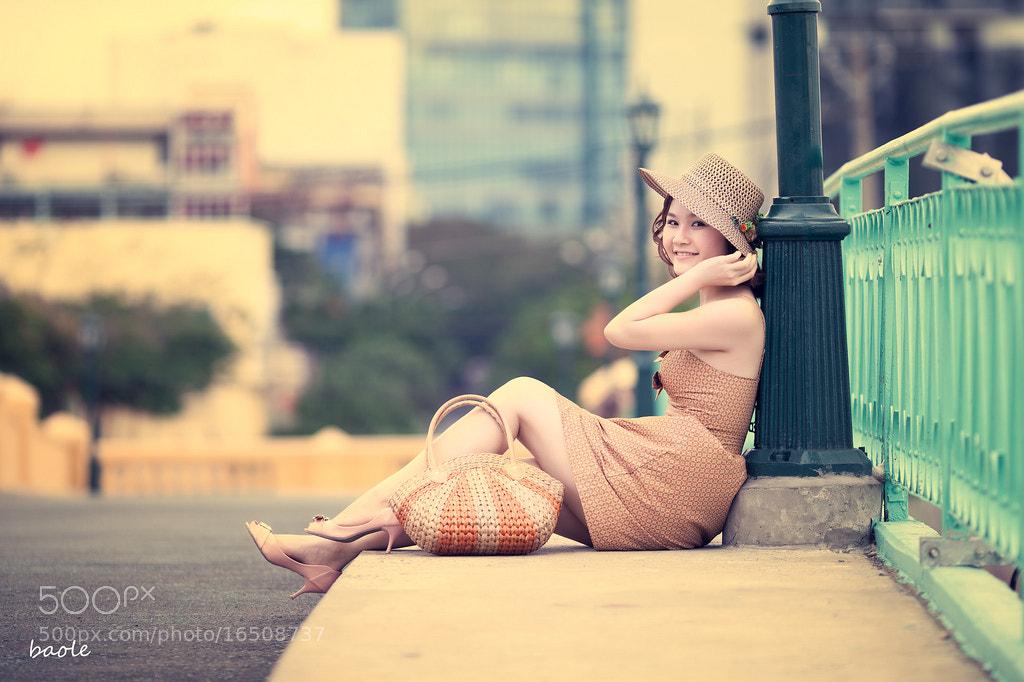 Photograph Vintage girl by Bảo Lê on 500px