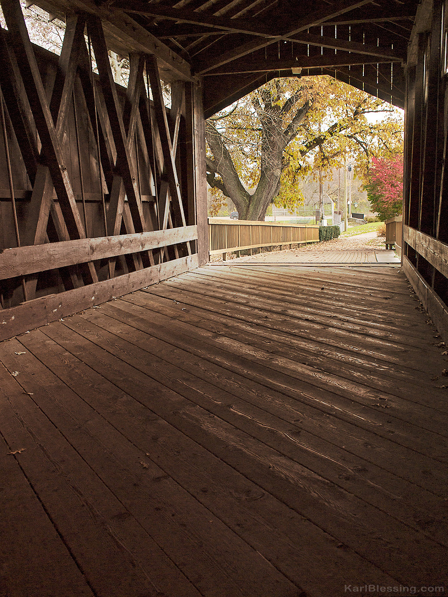 Photograph Ada Covered Bridge by Karl Blessing on 500px