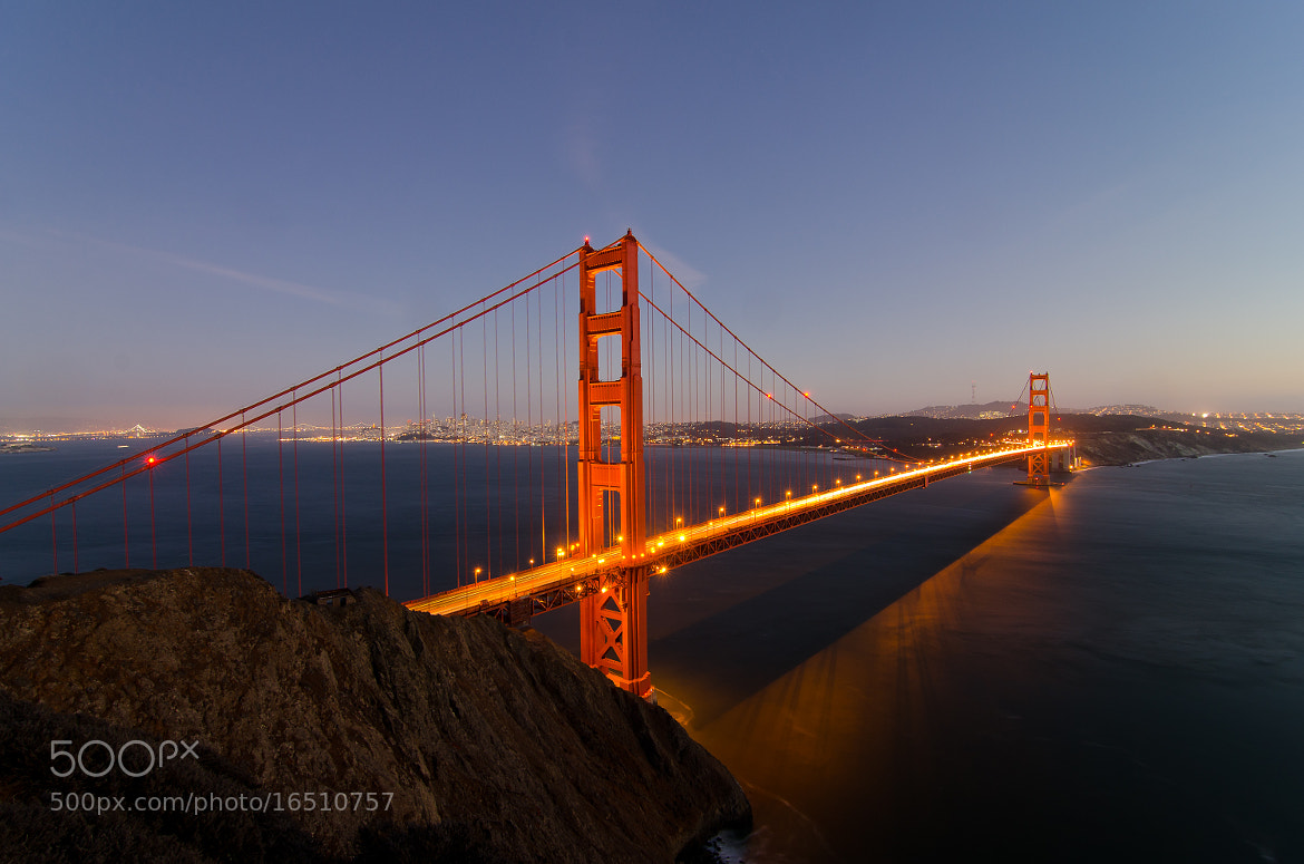Photograph Golden Gate Bridge by Andreas Koeberl on 500px