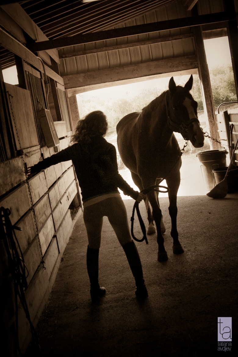 Photograph For the love of horses by Tatiana Avdjiev on 500px