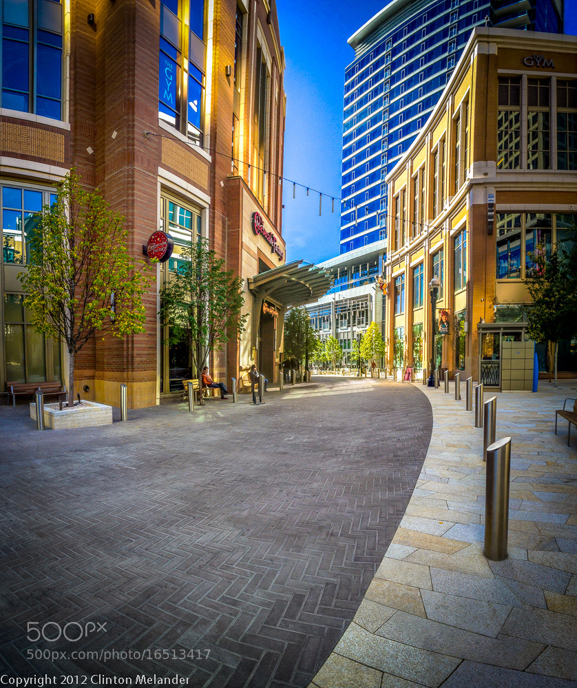 Photograph iPhone 4s City Creek Street  by Clinton Melander on 500px
