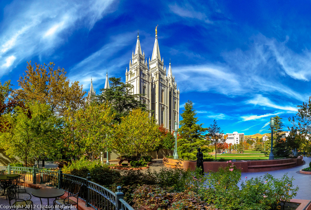 Photograph iPhone 4s Salt Lake Temple from Main Street Plaza by Clinton Melander on 500px