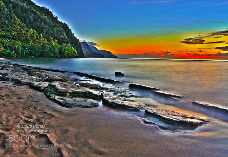 Photograph Ke`e Beach by Doug Porter on 500px