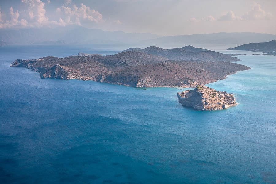 Photograph Bird's eye view of Spinalonga by Stavros Markopoulos on 500px