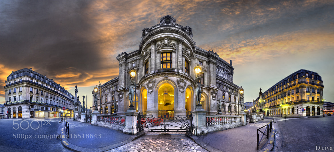 Photograph France, Paris, Opera Garnier  by Domingo Leiva on 500px