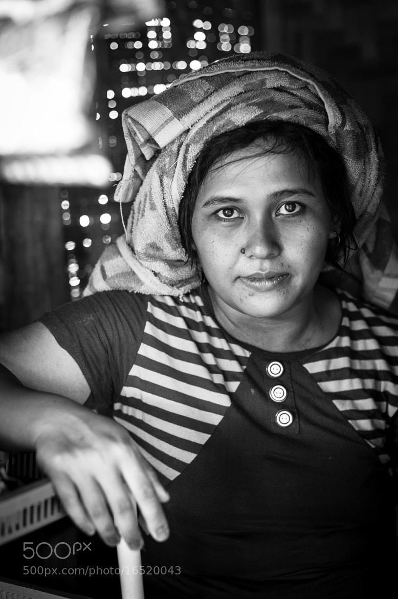 Photograph the market lady by Rio Krisna Murti on 500px