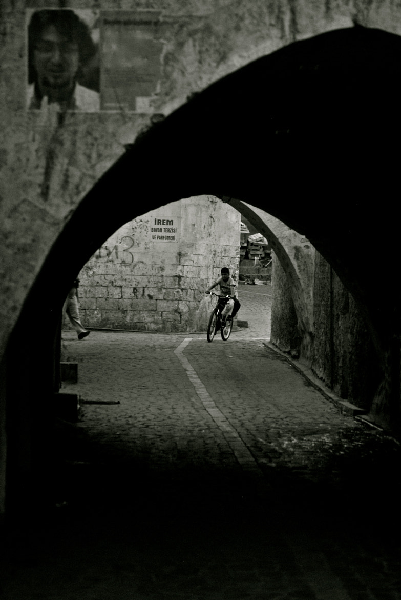 Photograph ... cycling in the old town by Burcu Candan on 500px