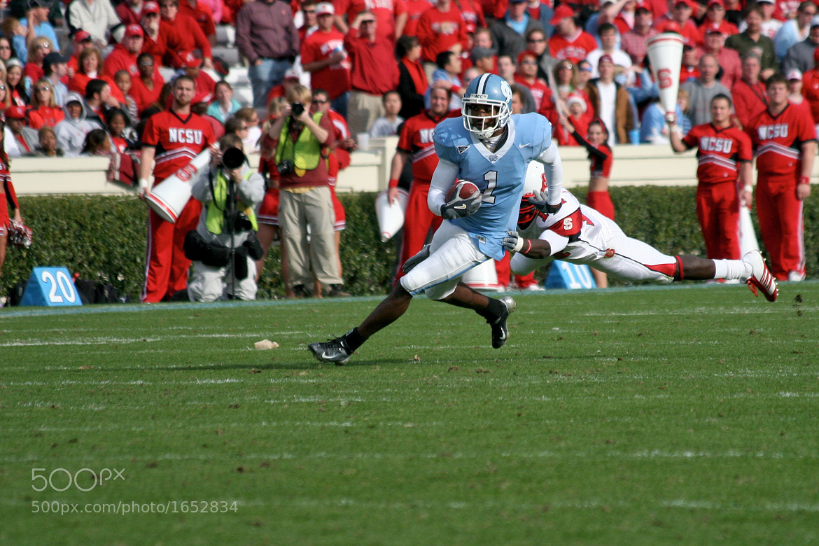 Photograph UNC vs NCSU  by Joe Cohn on 500px