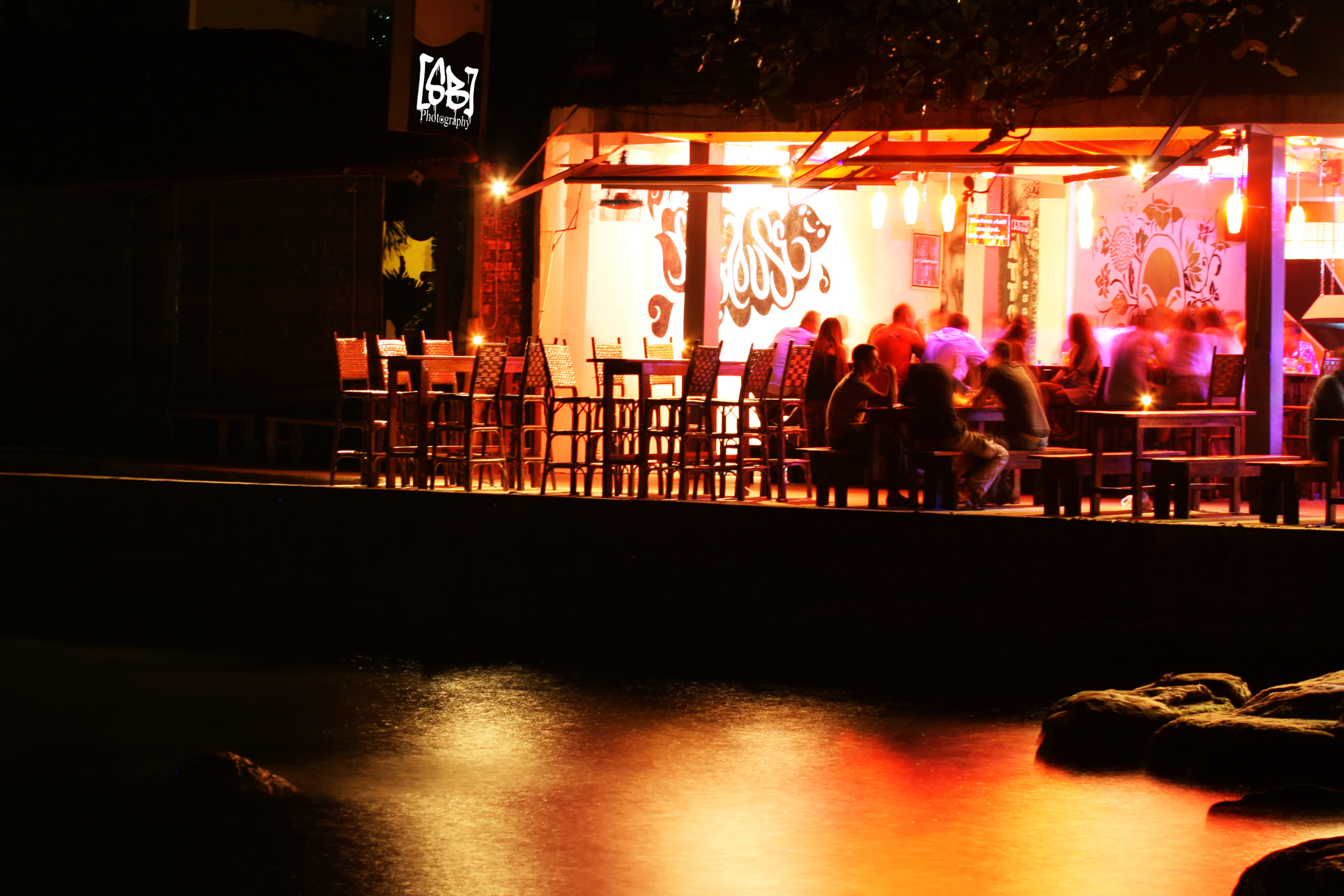 Photograph The Busy Bar by Seng Bee on 500px