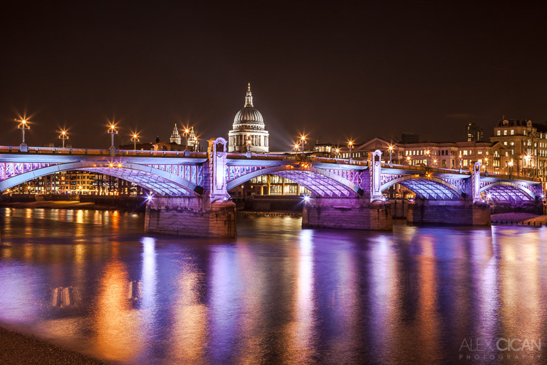 Photograph City of London by night by Alex Cican on 500px