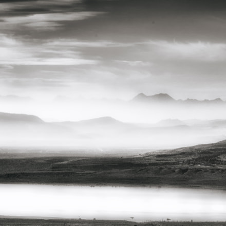 Morning Mist, Mono Lake, Pentax 645D, smc PENTAX-FA 645 Macro 120mm F4