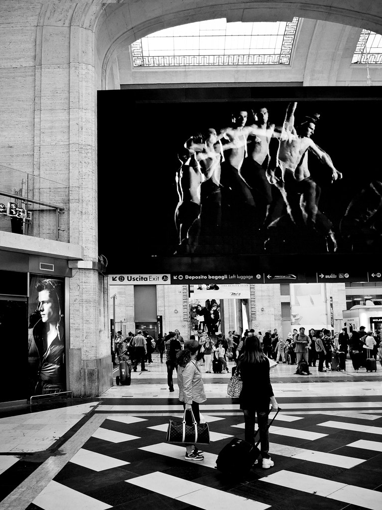 Photograph A BW stop at the main station/2 by Walter Scappini on 500px