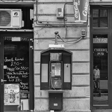 Payphone, Canon EOS-1D X, Sigma 24-105mm f/4 DG OS HSM | A