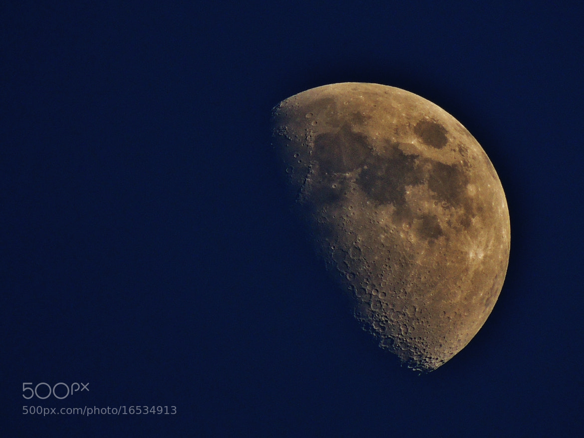 Photograph This Evenings Moon! by Ravi S R on 500px
