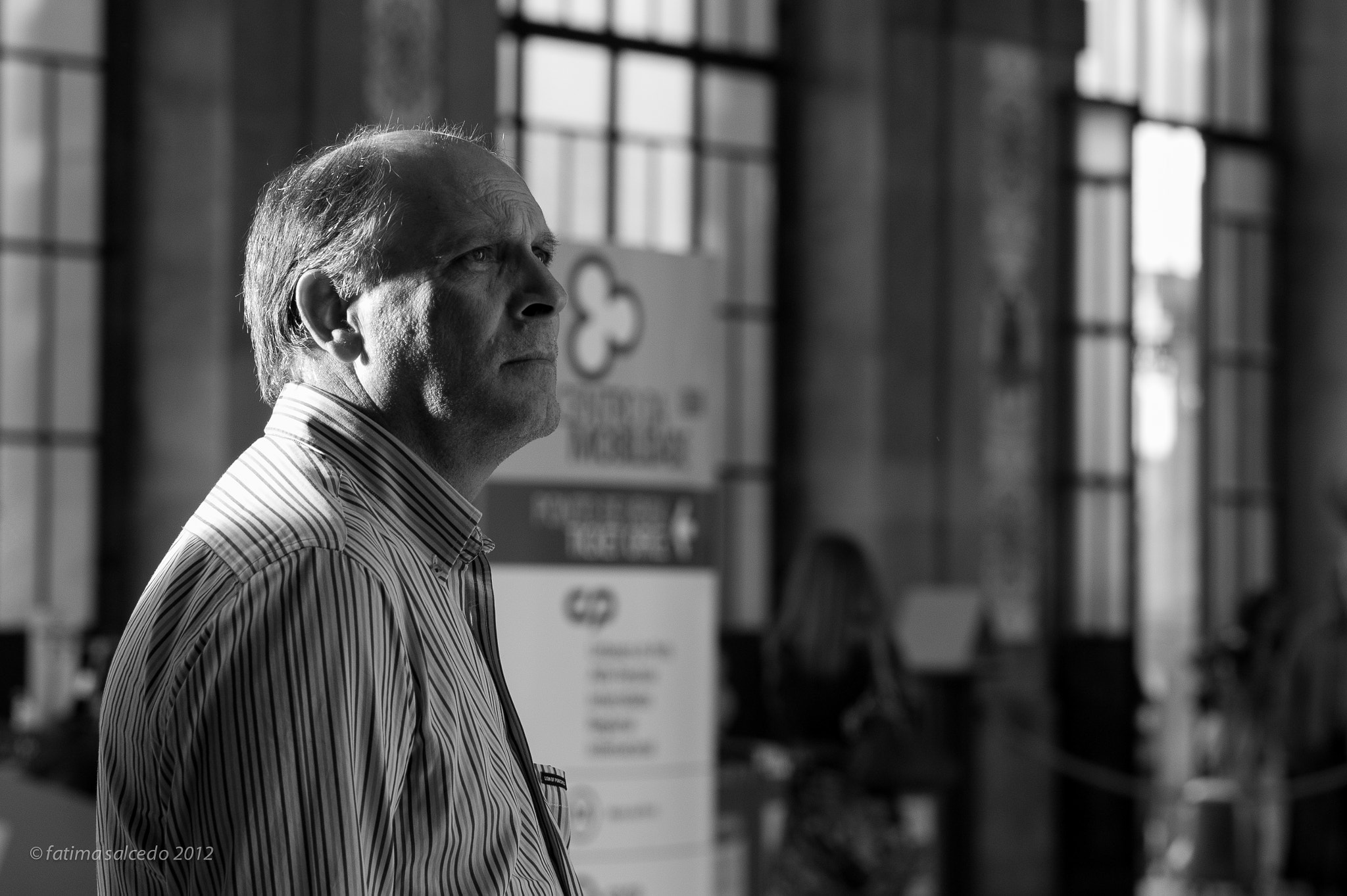 Photograph at the train station... by fatima salcedo on 500px