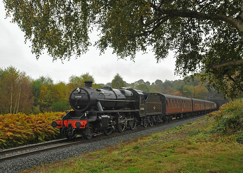 Photograph Steam Locomotive 42968 by Pete Withers on 500px