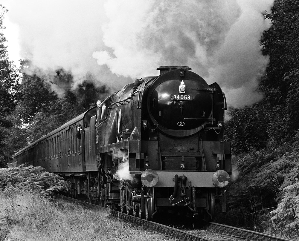 Photograph Sir Keith Park - Battle of Britain - 34053 @ Northwood near Bewdley by Pete Withers on 500px