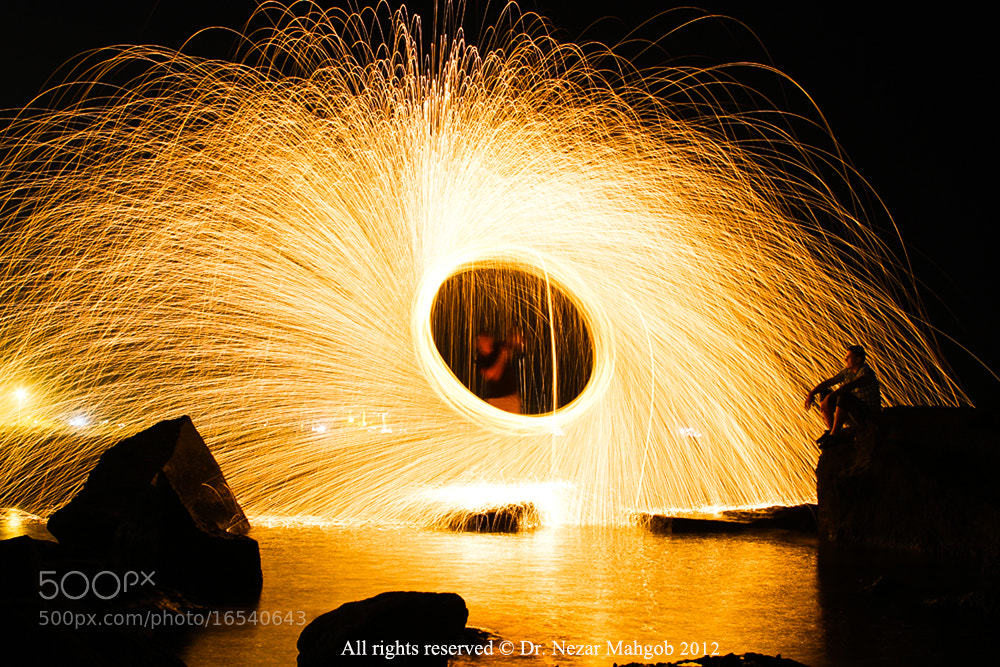 Photograph Steel wool man by Nezar Mahgob on 500px