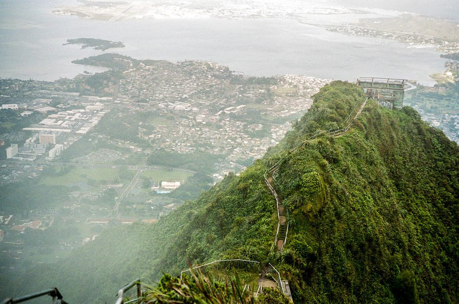 Haiku Stairs by Kyle Ford on 500px.com