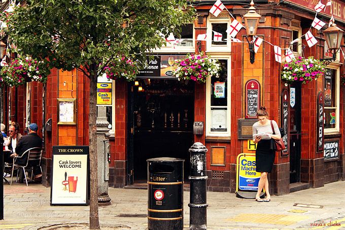 Photograph London corner pub in Spring by Nina's clicks on 500px