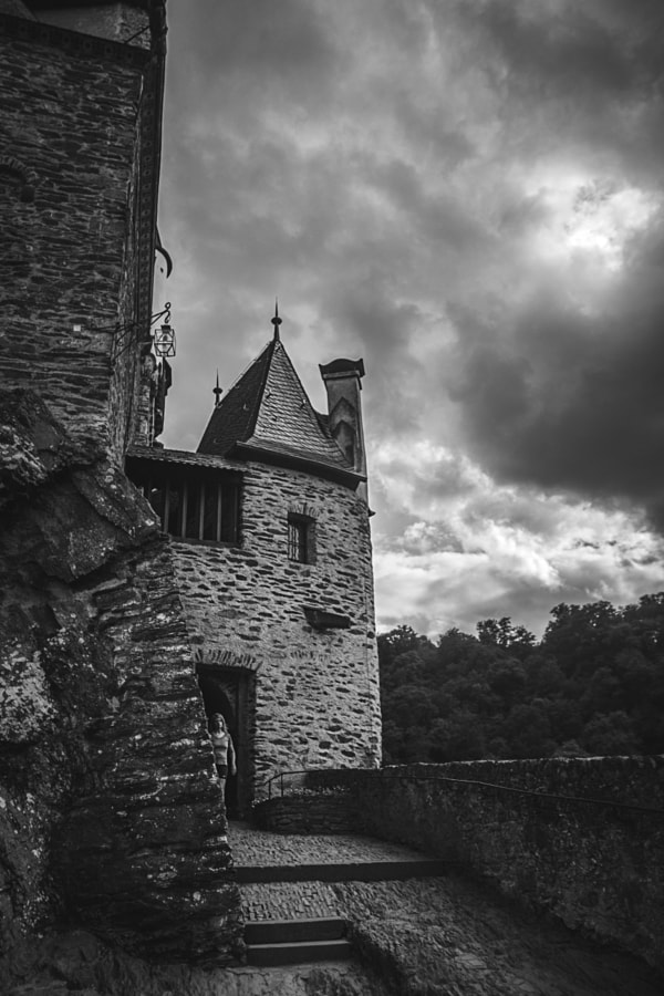 Burg Eltz (b/w) by Son of the Morning Light on 500px.com